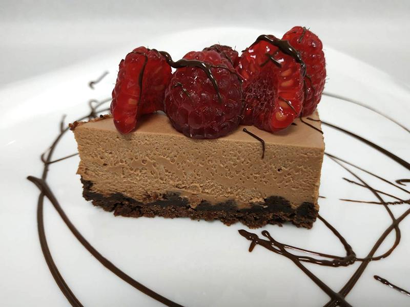 Cheesecake με κουβερτούρα και Nucrema ION