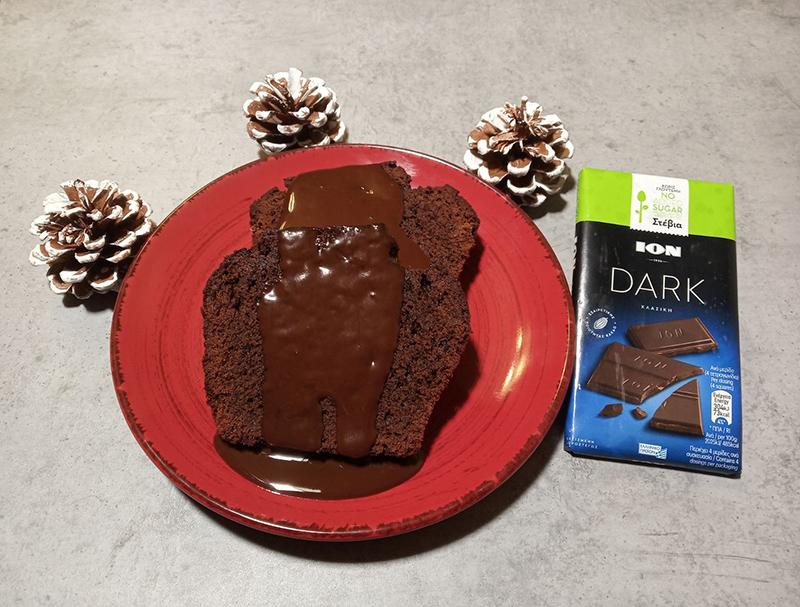 Εύκολο κέικ σοκολάτας χωρίς γλουτένη