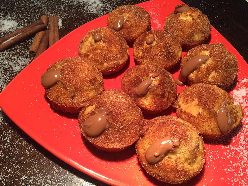 Churros donuts με Nucrema ION