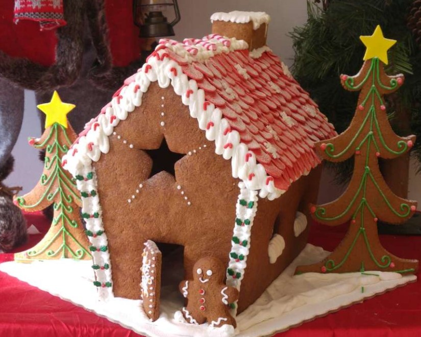 Gingerbread σπιτάκι Χριστουγέννων