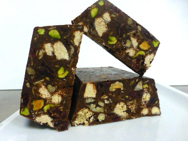 Νηστίσιμη καριόκα σοκολάτας