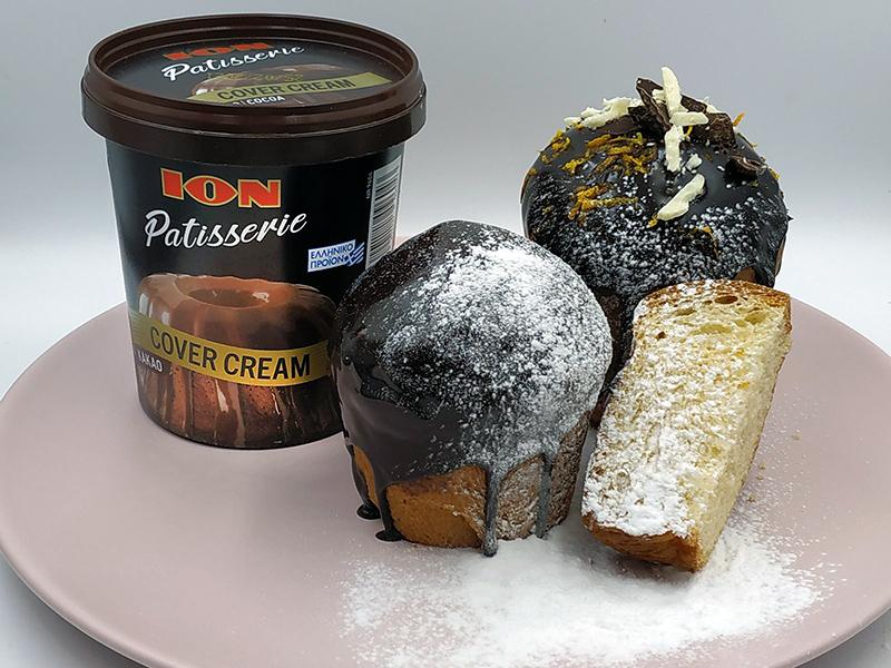 Pandoro mini με ION Patisserie Cover Cream