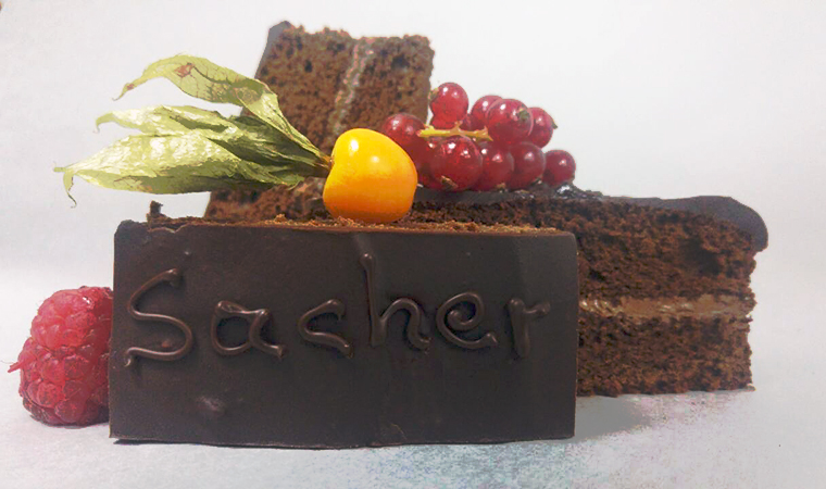 Sacher με κακάο, Nucrema ION και μαύρη σοκολάτα
