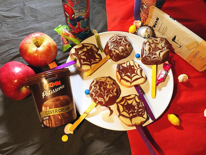 Σοκολατένια γλειφιτζούρια με μήλο!