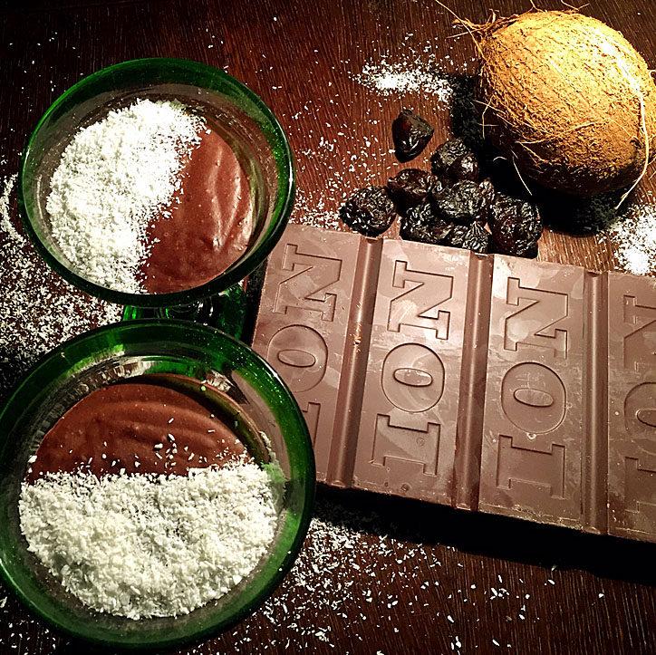 Vegan Σοκολατένια Μους